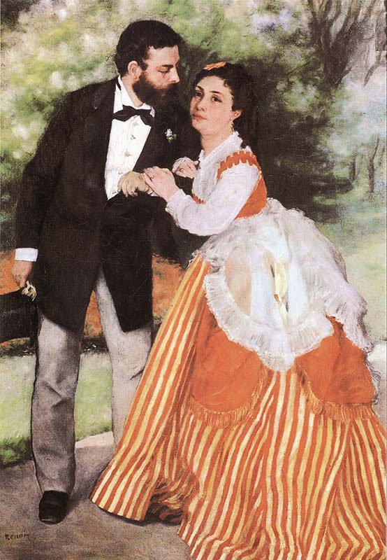 Alfred Sisley and his Wife